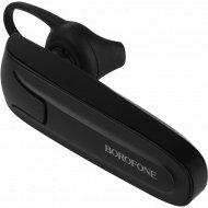 Bluetooth-гарнитура «Borofone» BC10 чёрная.