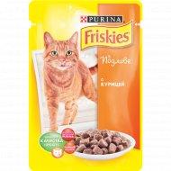 Корм для кошек «Friskies» в подливе с курицей 100 г.