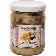Картофель тушенный «Кировский» с грибами и сметаной, 450 г.