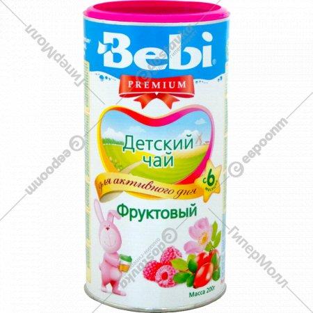 Чай детский, травяной «Bebi» фруктовый, 200 г.