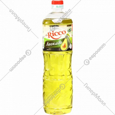 Подсолнечное масло «Mr.Ricco» с маслом авокадо, 1 л.