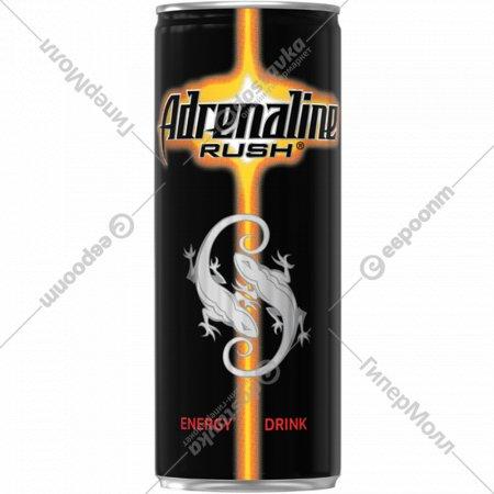 Напиток «Adrenaline Rush» энергетический 0.25 л.