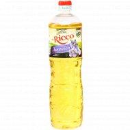 Подсолнечное масло «Mr.Ricco» с льняным маслом, 1 л.