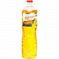 Подсолнечное масло «Mr.Ricco» с кукурузным маслом, 1 л.