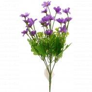 Цветок искусственный «Незабудка» фиолетовый, 28 см.