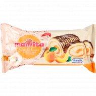 Рулет бисквитный «Mamita» с абрикосовой начинкой, 180 г.