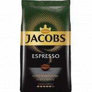 Кофе натуральный «Jacobs» Espresso, жареный в зёрнах, 1000 г.