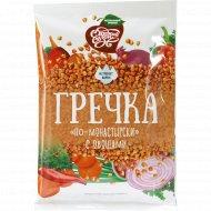 Крупа гречневая «По-Монастырский» с овощами, 40 г.