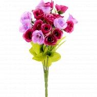 Цветок искусственный «Роза» фиолетово-сиреневый, 28 см.