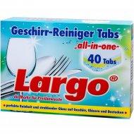 Таблетки для посудомоечной машины «Largo» 60115, All in, 40 шт