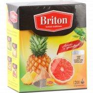 Чай черный «BRITON» ананас/грейпфрут 34г.