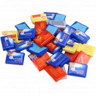 Ассорти из шоколадных плиток «Napolitains» 1 кг., фасовка 0.15-0.2 кг