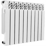 Радиатор «SAS» алюминиевый 500/80, 10 секций.