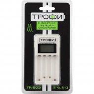 Зарядное устройство «Трофи» скоростное, TR-803, для АА и ААА.