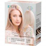 Набор «Estel» White balance, тон 12.65, прекрасный сапфир