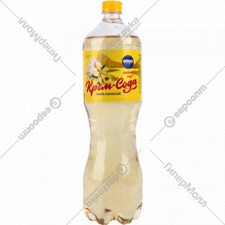 Напиток газированный «Aqualine» крем сода, 1.5 л.