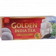 Чай чёрный «Golden India Tea» 100 пакетиков.