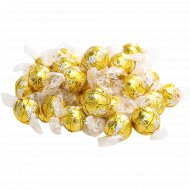 Конфеты «Lindor» белый шоколад с мягкой начинкой, 1 кг., фасовка 0.3-0.6 кг