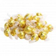 Конфеты «Lindor» белый шоколад с мягкой начинкой, 1 кг., фасовка 0.15-0.2 кг