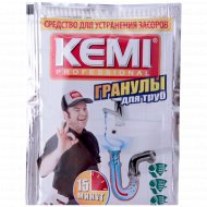 Средство «Kemi Professional - гранулы» для удаления засоров 70 г.
