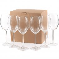Набор бокалов для вина «Bohemia Crystal» Maxima, 6 шт, 450 мл