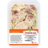 Шашлык из свинины «Налибокский» бескостный, охлажденный, 1 кг., фасовка 0.8-0.9 кг