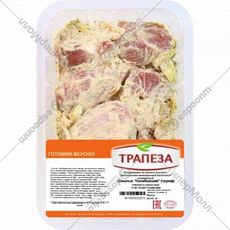 Шашлык из свинины «Налибокский» бескостный, охлажденный, 1 кг., фасовка 0.85-1.15 кг