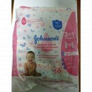 Детские влажные салфетки «Jonson`s» нежная забота, 256 шт.