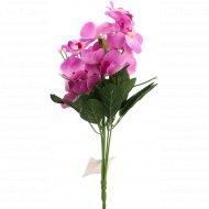 Цветок искусственный «Орхидея» фуксия, 28 см.