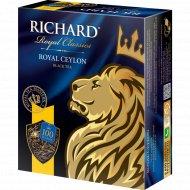 Чай черный «Richard» 100 пакетиков.