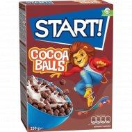 Готовый завтрак «Start!» шоколадные шарики, 250 г.