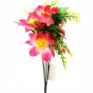 Цветок искусственный «Магнолия» розовый, 38 см.