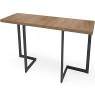 Стол «Millwood» Арлен 2, 120х38х111 см, табачный