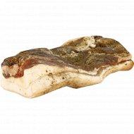 Грудинка свиная «Домашняя» соленая, охлажденная, 1 кг., фасовка 0.3-0.4 кг