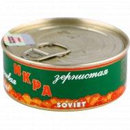 Икра лососевая «Soviet» зернистая, 95 г.