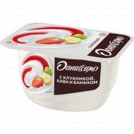 Продукт творожный «Даниссимо» клубника-банан-киви 5.4 %, 130 г.
