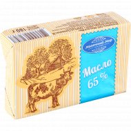 Масло сладкосливочное «Молочный мир» несоленое, 65%, 180 г.