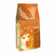 Полноценный корм для щенков и юниоров «Premil» Junior, 15 кг.