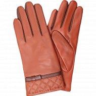 Перчатки женские «Esli» размер S, коричневый.