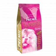 Корм для взрослых собак «Premil» Sunrise, для усиления иммунитета, 15 кг.