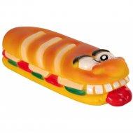 Игрушка виниловая для собаки «Салями» 19 см.