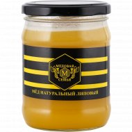 Мёд «Медовая семья» липовый, 600 г.