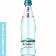 Вода минеральная «Borjomi» газированная, 0.33 л.