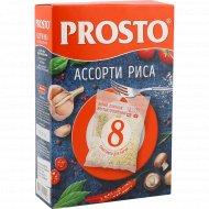 Ассорти риса «Prosto» 4 вида х 2 шт.