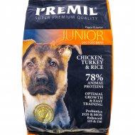 Корм для щенков и юниоров «Premil» Junior SuperPremium, 3 кг.