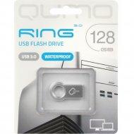 USB Flash «Qumo» Ring 128GB 3.0, QM128GUD3-Ring