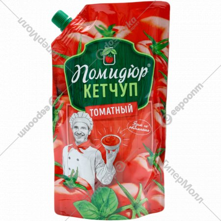 Кетчуп «Помидюр» томатный, 450 г.