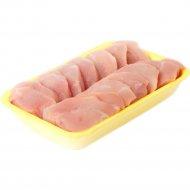 Полуфабрикат из мяса индейки «Медальоны из филе» 1 кг., фасовка 0.45-0.5 кг