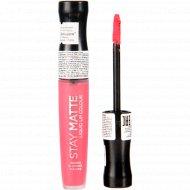 Жидка помада «Rimmel» Stay Matte Liquid Lip Colour, тон 820.