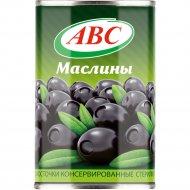 Маслины чёрные «ABC» без косточки, 280 г.
